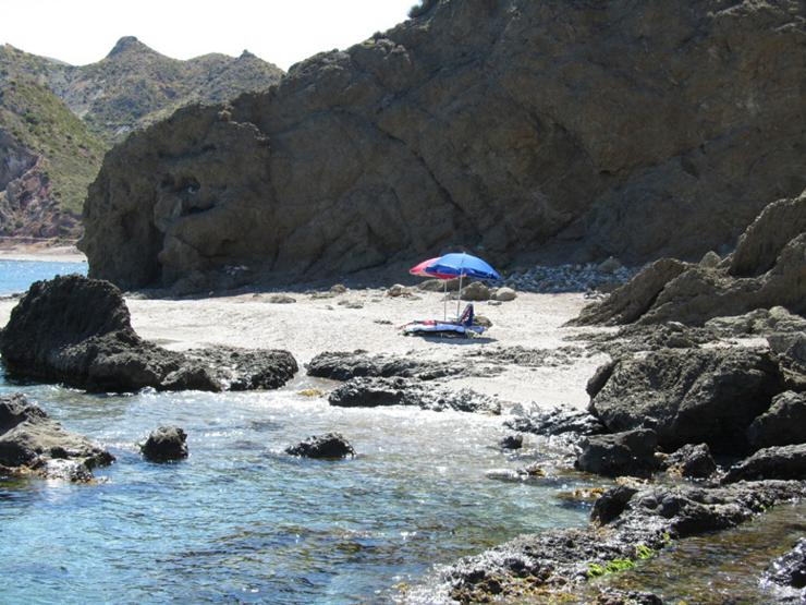 A Secluded Part of Playa El Sombrerico